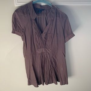 Sheer French Connection blouse - size 2